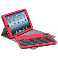 Slim Folio Kickstand Case with Removable Bluetooth Wireless Keyboard for iPad (2017) / iPad Air - Red
