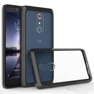 *Sale* Polymer Transparent Hybrid Case for ZTE Max XL / Blade Max 3 - Black