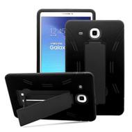 Explorer Impact Armor Kickstand Hybrid Case for Samsung Galaxy Tab E 9.6 - Black