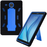 Explorer Impact Armor Kickstand Hybrid Case for Samsung Galaxy Tab E 9.6 - Black Blue