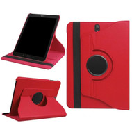 360 Rotating Leather Hybrid Case for Samsung Galaxy Tab S3 9.7 - Red