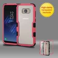 TUFF Vivid Hybrid Armor Case for Samsung Galaxy S8 - Pink