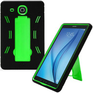 Explorer Impact Armor Kickstand Hybrid Case for Samsung Galaxy Tab E 9.6 - Black Green