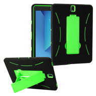 *Sale* Explorer Impact Armor Kickstand Hybrid Case for Samsung Galaxy Tab S3 9.7 - Black Green