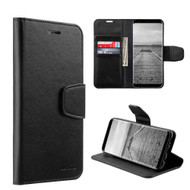 *SALE* Urban Classic Leather Wallet Case for Samsung Galaxy S8 - Black
