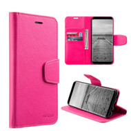*Sale* Urban Classic Leather Wallet Case for Samsung Galaxy S8 - Hot Pink