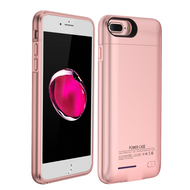Smart Power Bank Battery Case 4200mAh for iPhone 8 Plus / 7 Plus / 6S Plus / 6 Plus - Rose Gold
