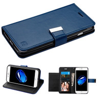 Essential Leather Wallet Stand Case for iPhone 8 / 7 - Navy Blue