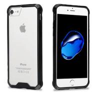 *Sale* Polymer Transparent Hybrid Case for Apple iPhone 8 / 7 - Black