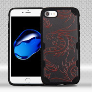Military Grade Certified Freestyle Challenger Graphic Hybrid Case for iPhone 8 / 7 - Drake Dragon