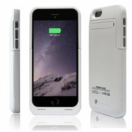 *SALE* Power Bank Battery Case with Kickstand 3500mAh for iPhone 6 / 6S - White