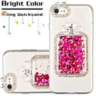 *Sale* 3D Perfume Bottle Quicksand Glitter Diamond Case for iPhone 8 / 7 - Hot Pink