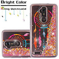 Quicksand Glitter Transparent Case for ZTE Max XL / Blade Max 3 - Dreamcatcher