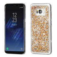 Desire Bling Bling Crystal Cover for Samsung Galaxy S8 Plus - Rhinestones Gold
