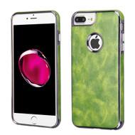 Luxury Leather Fusion Case for iPhone 8 Plus / 7 Plus / 6S Plus / 6 Plus - Green