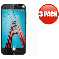 *SALE* HD Premium 2.5D Round Edge Tempered Glass Screen Protector for Coolpad Defiant - 3 Pack