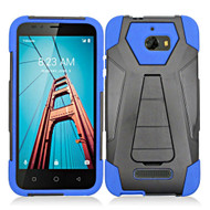 *Sale* Fusion Multi-Layer Hybrid Kickstand Case for Coolpad Defiant - Blue