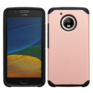 Hybrid Multi-Layer Armor Case for Motorola Moto E4 / G5 - Rose Gold
