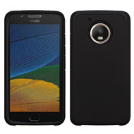 Hybrid Multi-Layer Armor Case for Motorola Moto E4 / G5 - Black