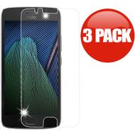 *SALE* HD Premium 2.5D Round Edge Tempered Glass Screen Protector for Motorola Moto G5 - 3 Pack