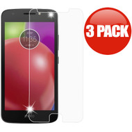 *SALE* HD Premium 2.5D Round Edge Tempered Glass Screen Protector for Motorola Moto E4 - 3 Pack