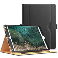 Slim Folding Stand Smart Leather Folio Case with Auto Wake / Sleep for iPad Pro 10.5 inch - Black