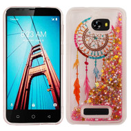 Quicksand Glitter Transparent Case for Coolpad Defiant - Dreamcatcher