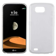 *Sale* Rubberized Crystal Case for LG X Calibur / X Venture - Clear