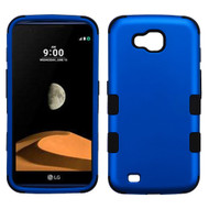 *Sale* Military Grade Certified TUFF Hybrid Armor Case for LG X Calibur / X Venture - Blue