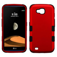 *Sale* Military Grade Certified TUFF Hybrid Armor Case for LG X Calibur / X Venture - Red