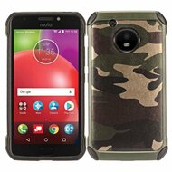 Tough Anti-Shock Hybrid Case for Motorola Moto E4 - Camouflage