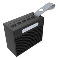 IPX6 Waterproof Bluetooth Wireless Speaker with Hand Strap - Black