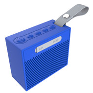 IPX6 Waterproof Bluetooth Wireless Speaker with Hand Strap - Blue