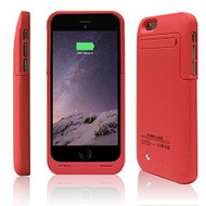 *SALE* Power Bank Battery Case with Kickstand 3500mAh for iPhone 6 / 6S - Red