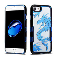 TUFF Panoview Transparent Hybrid Case for iPhone 8 / 7 - Dragon
