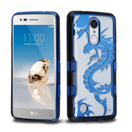 TUFF Panoview Transparent Hybrid Case for LG Aristo / Fortune / K8 2017 / Phoenix 3 - Dragon