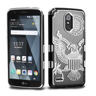 TUFF Panoview Transparent Hybrid Case for LG Stylo 3 / Stylo 3 Plus - Great Seal