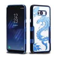 TUFF Panoview Transparent Hybrid Case for Samsung Galaxy S8 - Dragon