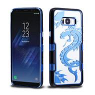 TUFF Panoview Transparent Hybrid Case for Samsung Galaxy S8 Plus - Dragon