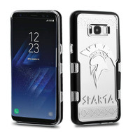 TUFF Panoview Transparent Hybrid Case for Samsung Galaxy S8 Plus - Sparta