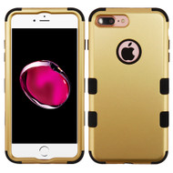 Military Grade Certified TUFF Hybrid Armor Case for iPhone 8 Plus / 7 Plus - Gold