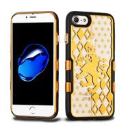 TUFF Panoview Transparent Hybrid Case for iPhone 8 / 7 - Lion Crest