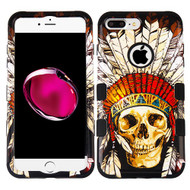 Military Grade Certified TUFF Image Hybrid Armor Case for iPhone 8 Plus / 7 Plus - Dead Chief Skull