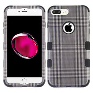Military Grade Certified TUFF Image Hybrid Armor Case for iPhone 8 Plus / 7 Plus - Grey Blazer