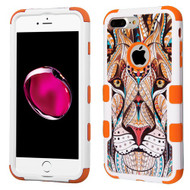 Military Grade Certified TUFF Image Hybrid Armor Case for iPhone 8 Plus / 7 Plus - Majestic Lion