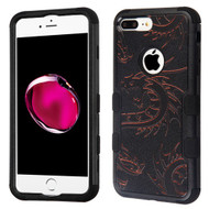 Military Grade Certified TUFF Image Hybrid Armor Case for iPhone 8 Plus / 7 Plus - Drake Dragon