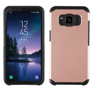 Hybrid Multi-Layer Armor Case for Samsung Galaxy S8 Active - Rose Gold