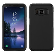 Hybrid Multi-Layer Armor Case for Samsung Galaxy S8 Active - Black