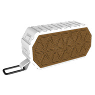 All-Terrain IPX6 Waterproof Bluetooth Wireless Speaker - White