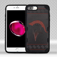 Military Grade Certified Challenger Graphic Hybrid Case for iPhone 8 Plus / 7 Plus - Spartan